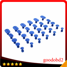 цена на Paintless Dent Repair Tools PDR Tool Glue Pulling Tabs PDR Dent Tabs Glue Tab Puller Set of 35pcs Blue Glue Tabs