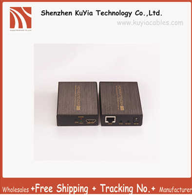 Free Shipping HDMI over single 60m 200ft 1080p UTP Cables with Dual IR Control effective hdmi