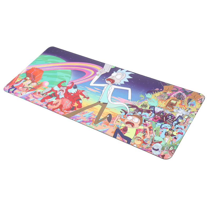 700x300 Gaming Large Mouse Pad L Xl Desk Mat Anime For Rick And Morty Mousepad For Pc Laptop Pad Overlock
