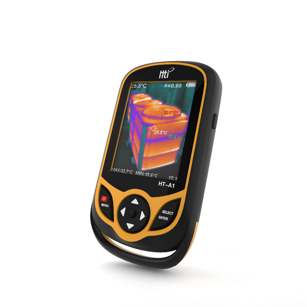 HT A1 3 2 inch Full View TFT Screen Infrared thermometer Thermal Imager 0 3MP Camera