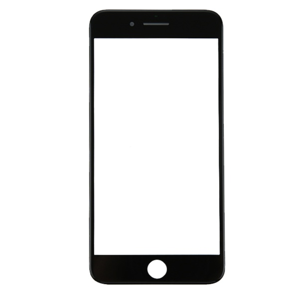 New Front Screen Lens Outer Glass with frame For iPhone 8 8 plus Replacement Repair Part without touch