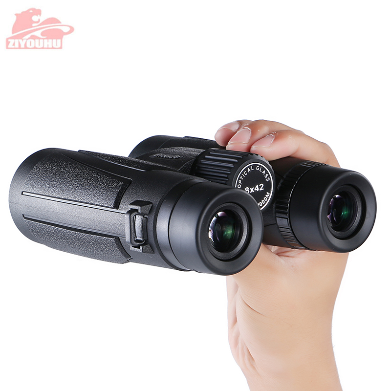 Image 4 - Latest Design 8x42 HD Binoculars Powerful Professional lll Night Vision Waterproof Binocular Hunting Telescope 6 Color Optional-in Monocular/Binoculars from Sports & Entertainment