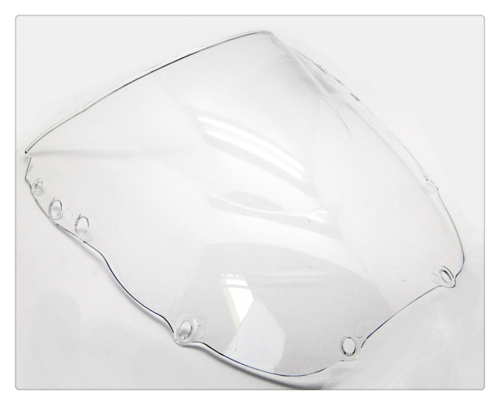 Motorcycle Clear Double Bubble Windscreen Windshield For Honda CBR900RR CBR 900 RR 919 1998-1999