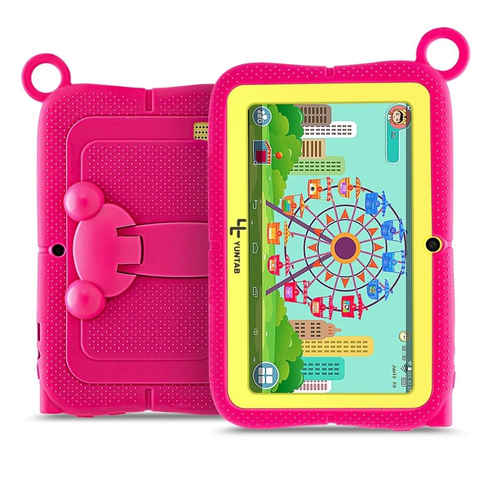 Новое поступление! YUNTAB 7 дюймов Q88R планшетный ПК с родительский Управление Ивава программного обеспечения для обучения, 3D игра HD видео подде...