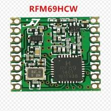 ¡Envío gratis por DHL! 100 Uds RFM69 RFM69HC RFM69HCW programable, 315 915Mhz MÓDULO TRANSCEPTOR RF módulo ORIGINAL