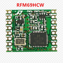 Freies verschiffen durch DHL! 100PCS RFM69 RFM69HC RFM69HCW Programmierbare 315 915Mhz RF Transceiver Modul HopeRF ORIGINAL