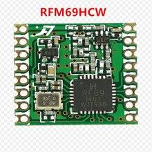 Livraison gratuite par DHL! 100 pièces RFM69 RFM69HC RFM69HCW Programmable 315 915Mhz RF Module émetteur récepteur HopeRF ORIGINAL