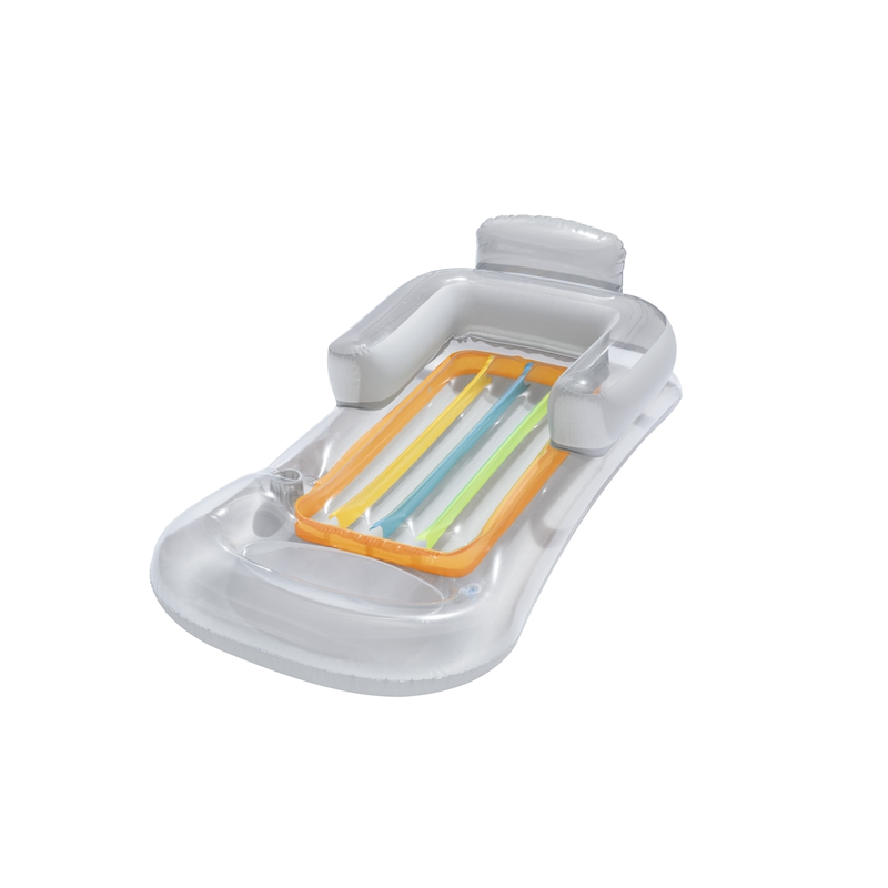 Adults Kool Inflatable Lounge Chair Swim Airmat Bed Mattress Swimming Pool Float Water Toys Fun Raft