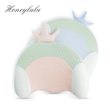 Honeylulu Baby Shaping Pillow Memory Foam Baby Pillow Anti-rollover Pillow For Newborns Grooved Breathable Four Seasons