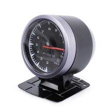 Автомобильный датчик температуры выхлопных газов 2,5 дюйма 60 мм 7 цветов светильник для автомобиля 12 В