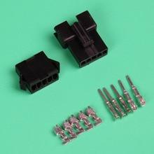 10 компл. черный 5Pin/способ вилки и разъемы автомобильной SM2.54mm-5 P Kit (мужской и женский корпус + терминал) для автомобиля/лодки ЭСТ.