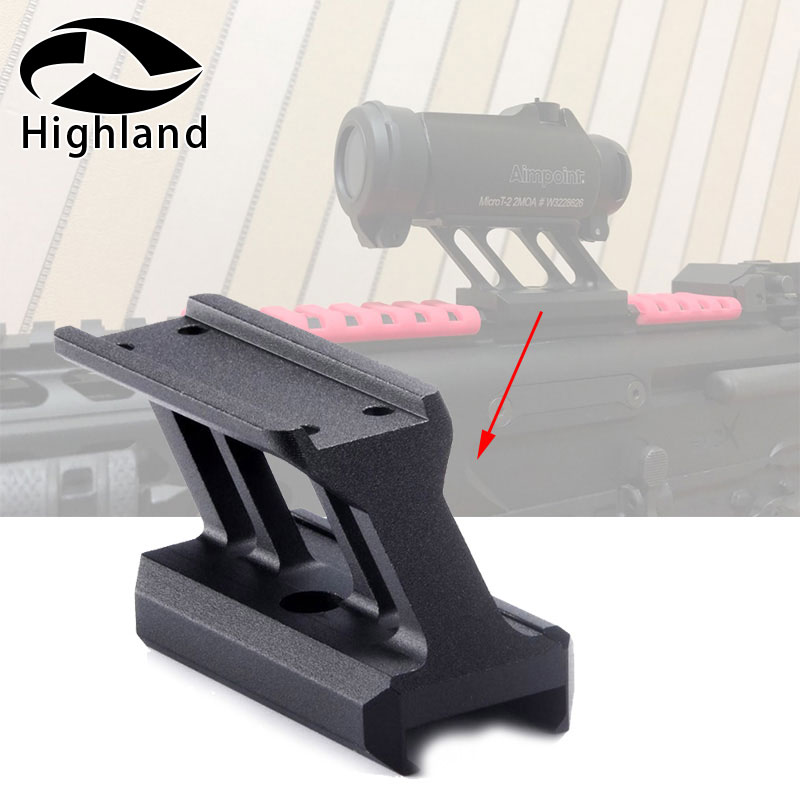 Tactical hunting <font><b>Scope</b></font> Mount Airsoft <font><b>T1</b></font> / T-1 / T2 / T-2 / Target <font><b>Red</b></font> <font><b>Dot</b></font> Sight <font><b>Scope</b></font> Mount image