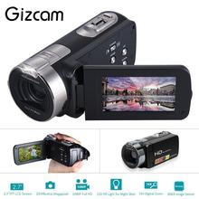 On sale Gizcam Mini 2.7″ Digital Cameras 24 million Pixels Video Camcorders DV Rotating LCD Screen Point Shoot Cameras Portable EU Plug