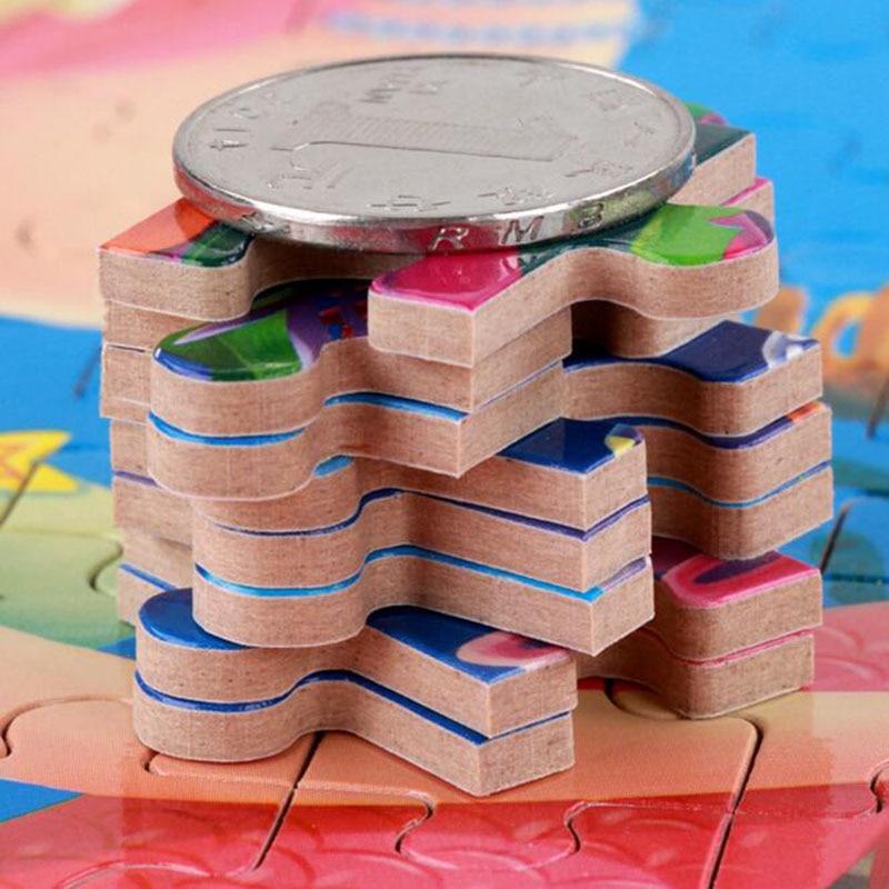 200pcs / box Cartoon 3D Puzzle avec Iron Box pour enfants Jigsaw - Jeux et casse-tête - Photo 4
