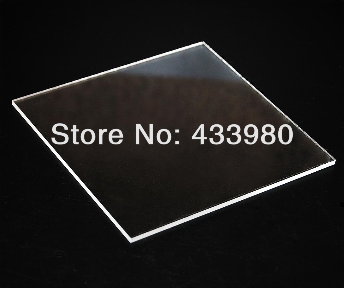400mm x 300mm x 1 5mm Acrylic PMMA Transparent Clear Sheets 6 pcs lot