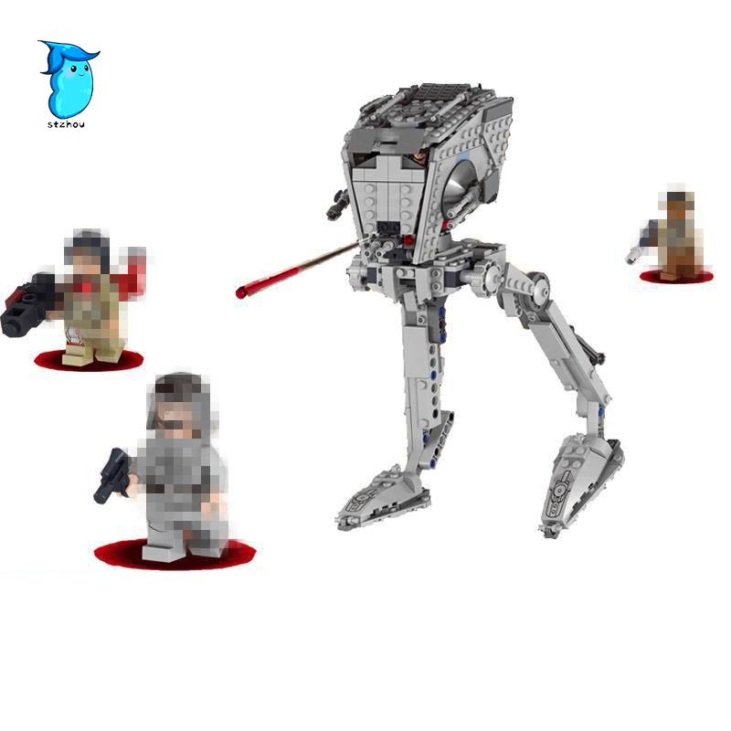 StZhou Lepin Imperial AT-ST Walker 420 Pcs Mini Bricks Set sale Star Wars The Rogue One Building Blocks Toys For Children 1pc imperial death trooper rogue one 75156 diy figures star wars superheroes assemble building blocks kids diy toys xmas