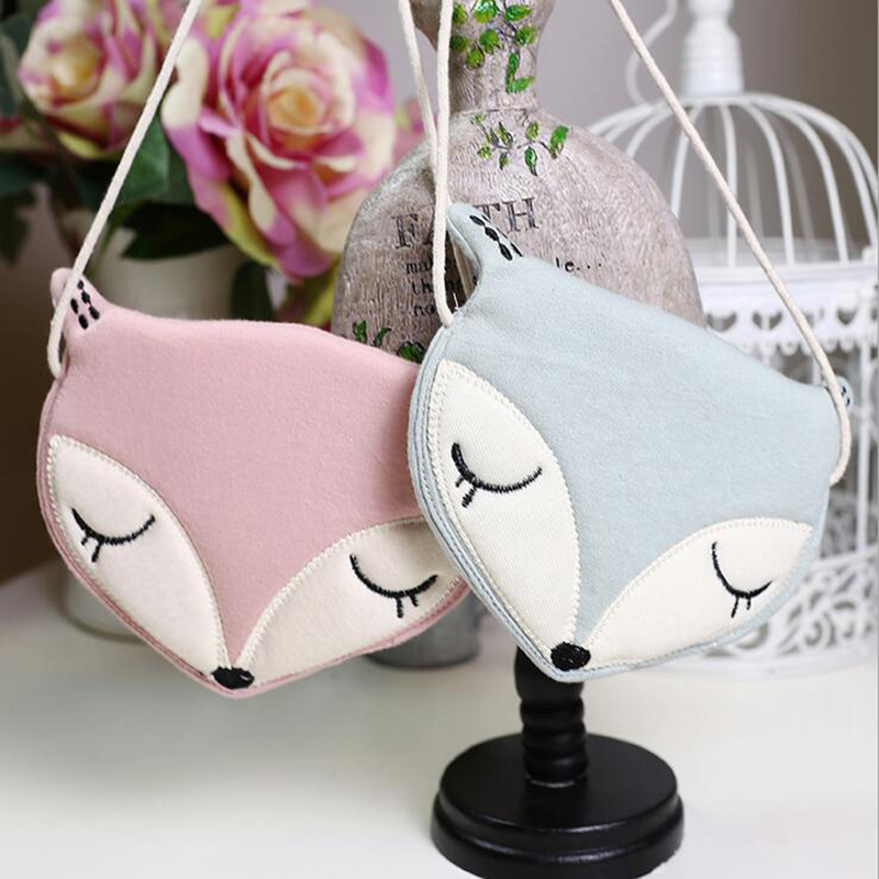 Mini Fox Plush Backpack Child Cute Girls Bag Children's Bags For Girl Crossbody Toy Animal Crossing Purse Toddler Birthday Gifts