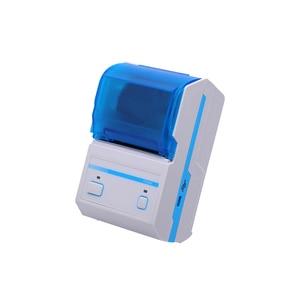 Potable Thermal Receipt Printer Mobile 2inch Label/Sticker Bluetooth USB Interface 58mm Printer With Multi-language Printing