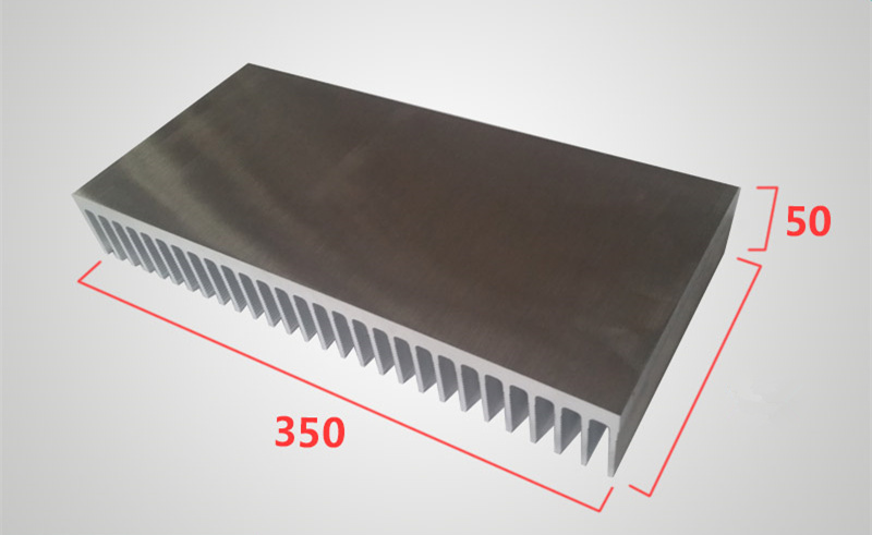 Heat sink aluminum profile high power aluminum radiator width 350mm,high 50mm,length 100/200/300mm Electricity generation cooler 1pcs heat sink 200 70 30mm silver high quality ultra thick aluminum radiator