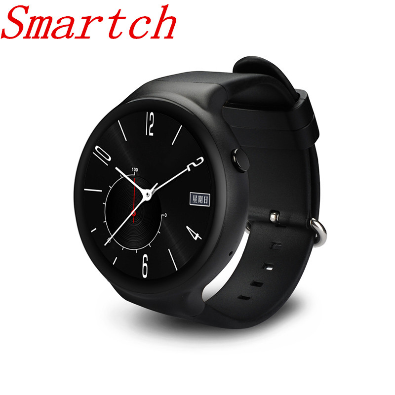 Smartch Smart Watch I4 PRO MTK6580 Android 5.1 OS 2GB+16GB WIFI 3G GPS Weather Pedometer Heart Rate Monitor Bluetooth SmartWatch