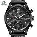 relogio masculino OCHSTIN Mens Luxury Top Brand Watches Men Sport Leather Quartz Watch Men's Fashion Casual Wristwatch