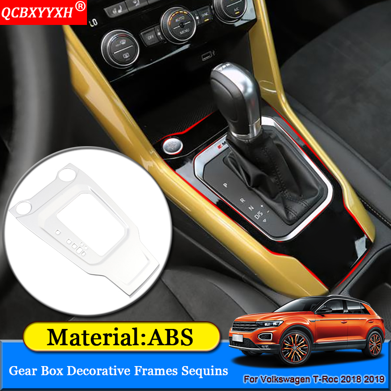Car Interior Armrest Console Central Storage Box Fit For Volkswagen T-ROC 2018