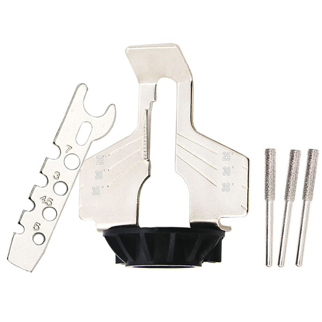 Electric Grinder Chain Saw Sharpening Attachment Set Power Tools Accessories  Hardware Tools