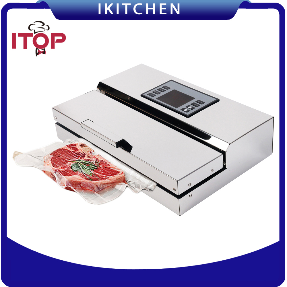 110V/220V Household Food Vacuum Sealer Packaging Machine Film Sealer Vacuum Packer zonesun free express shipping household vacuum food packaging machine plastic film sealer plastic packaing machine