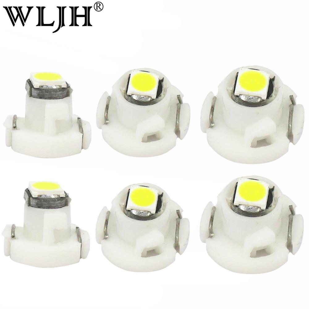 5 Blue SMD LED T4.2 Neo Wedge 12v Interior LED Bulb