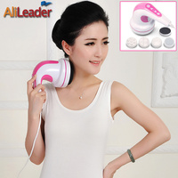 Alileader 28W Infrared Electric Body Slimming Fat Burning Machine Professional Anti Cellulite Massage 4 Portable Massager