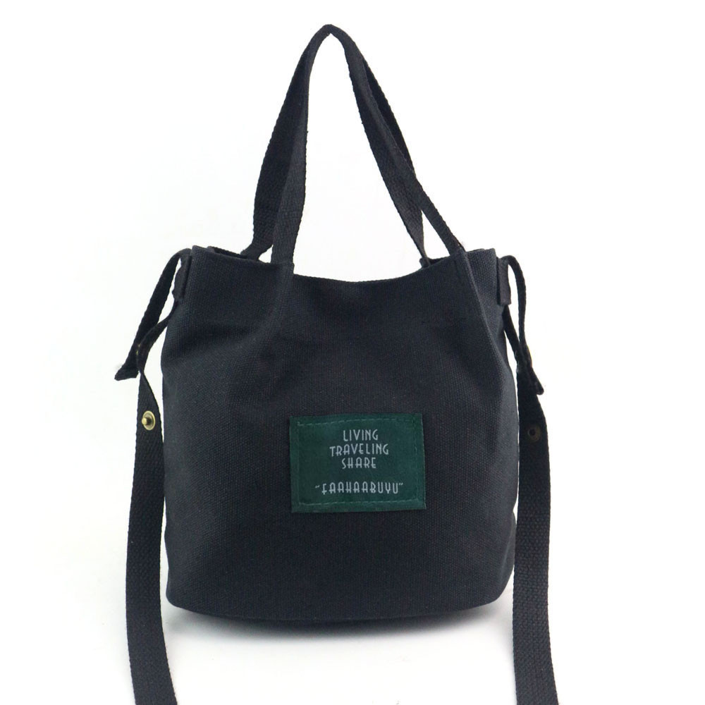 MOLAVE Handbag bag female Solid bags for women hasp Women Fashion Canvas Travel Shoulder Bag Large Tote Ladies Purse Feb26