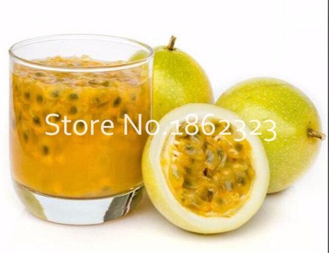 50 pz/borsa Frutto della Passione (Passiflora edulis) Piante, rare tropicali e subtropicali frutta Biologica di alberi da frutto Bonsai per la casa pianta
