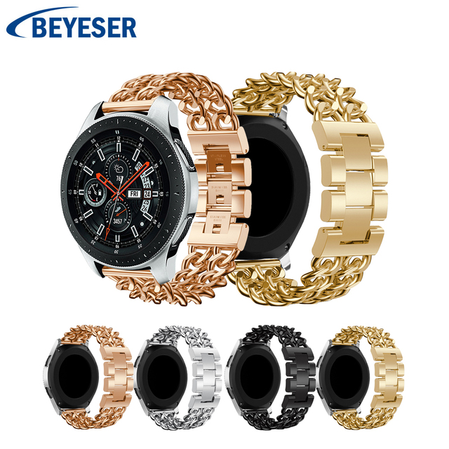 Premium Stainless Steel Watchband for Samsung Galaxy Watch 46mm Strap for Samsung Gear S3 Classic/Frontier band with Adjust Tool