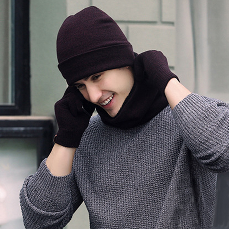 scarf hat set (4)