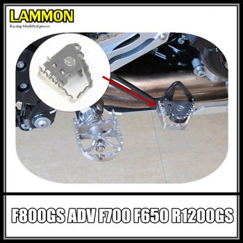 Motorcycle accessories modification Brake Foot Enlarge Fit For BMW F700GS F650GS R1200GS F 600 GS F 700 GS R 1200 GS ADV image