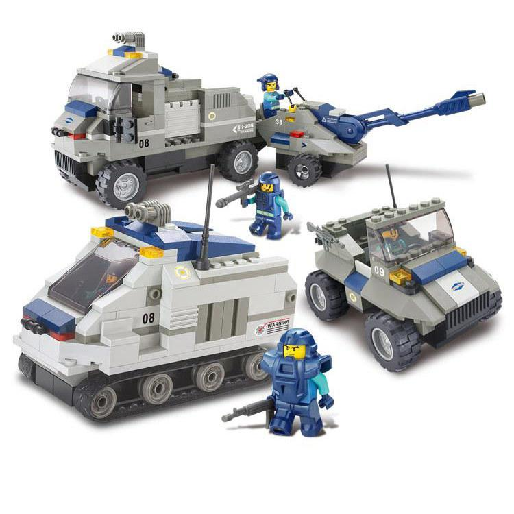 BOHS Special Forces - Armored Artillery Regiment Children Educational Toys Building Blocks 467pcs henry brook special forces