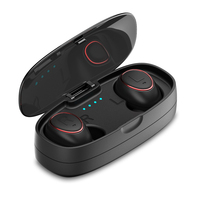 HTK18 Plus Business Bluetooth Earphones Wireless 3D Stereo Headphones Headset And Power Bank With Microphone Handsfree