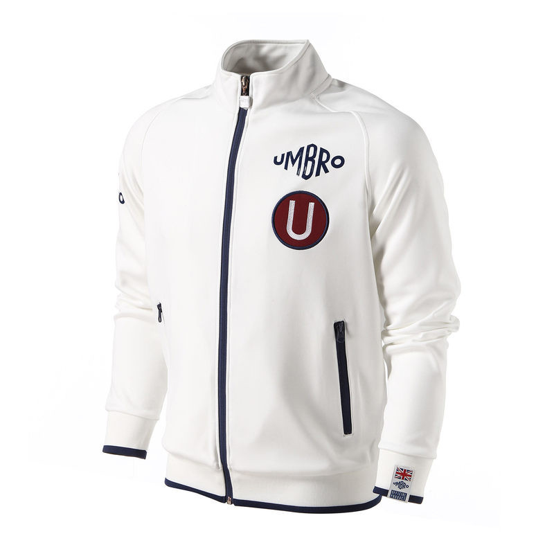 Umbro Men Owen Sportswear Zipper Jacket Sweater Men's Sport Suits Training Jacket Football Hoodie Ucb63275 sides zipper mens hoodie