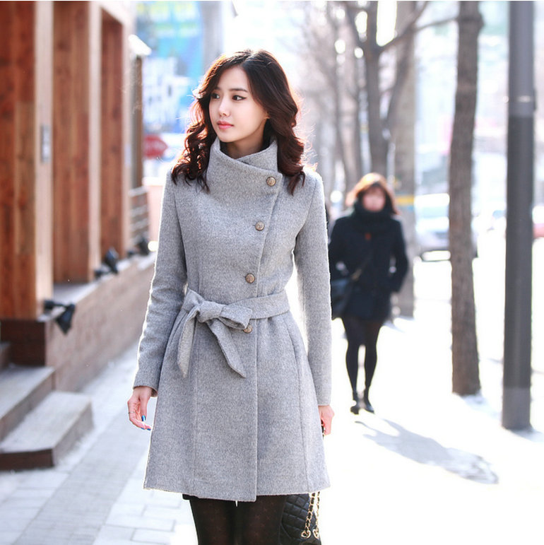 Womens long fitted pea coat – Modern fashion jacket photo blog - Fitted Pea Coats For Women Down Coat