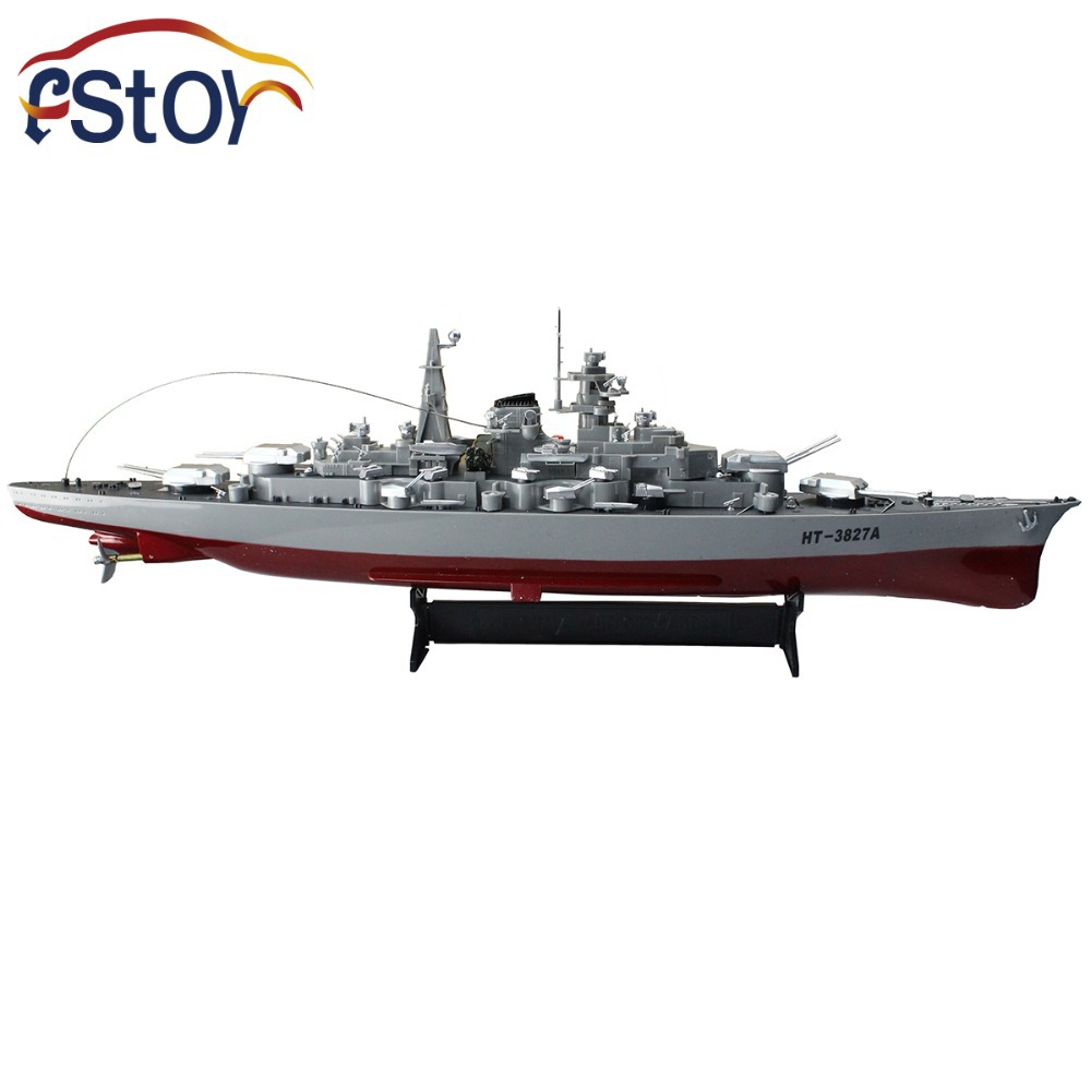 Rc Military Model Series Battleship 1/360 RC 28 Warship Cruiser Simulation Battleship Bismarck  High-speed Remote Control Toy nendoroid cynthia and garchomp action figures toys anime collectible model 507