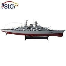 Rc Military Model Series Battleship 1 360 RC 28 Warship Cruiser Simulation Battleship Bismarck High speed