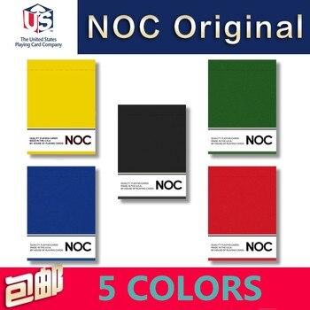 1 Deck NOC Original 5 opciones de Color cartas de póquer tamaño Deck USPCC HOPC personalizado limitado nueva magia