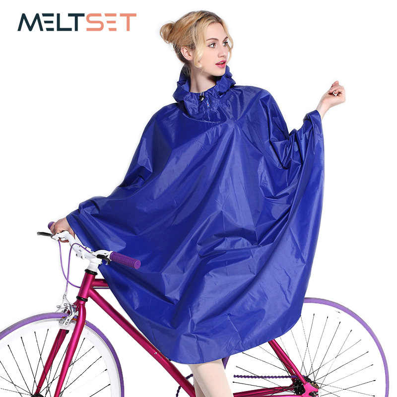 7a494e44ca4 Bicycle Rain Poncho Bike Motorcycle Rain Capes Ponchos Portable Travel  Camping Poncho Women Raincoat Hooded Hiking