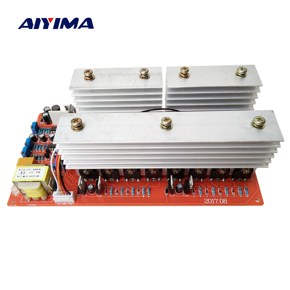 Aiyima Pure Sine Wave Frequency Inverter Power Board DC 24V 36V 48V 60V To 220V High-power 6000W Circuit Main Model inverters 24v 36v 48v 60v 1kw to 5kw pure sine wave power frequency inverter motherboard circuit board pcb motherboard