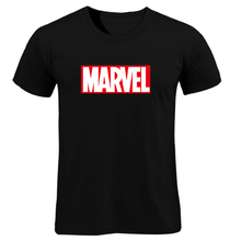 a8d7b3fa7c1 2019 New Fashion MARVEL T-Shirt Men Cotton Short Sleeves Casual Male Tshirt  Marvel T
