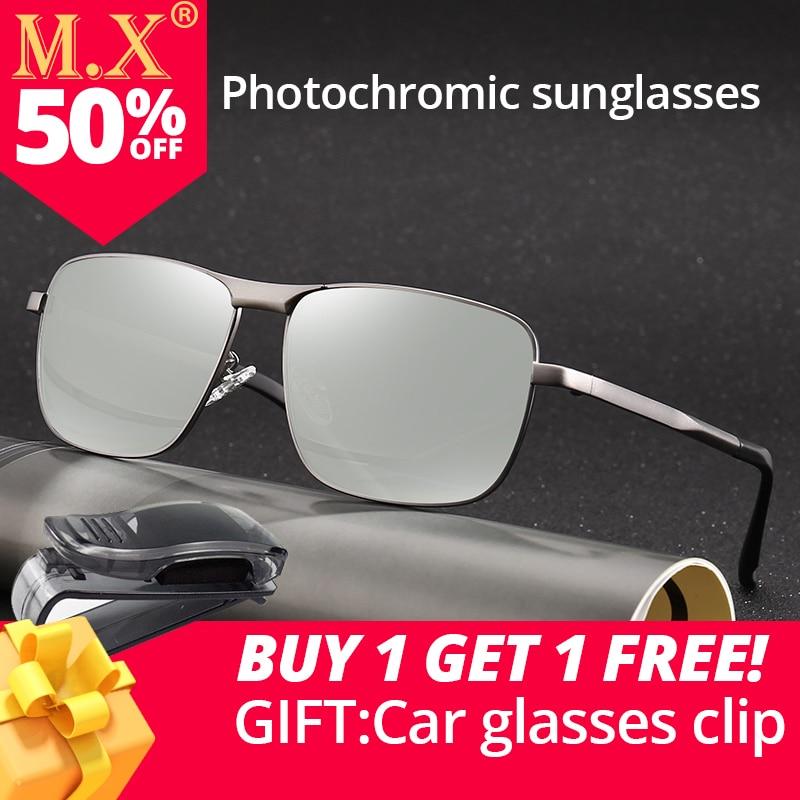 Vente MX Conduite Polarisées changement couleur Photochromiques lunettes de  Soleil Hommes Caméléon Lunettes Hommes Pilote Lunettes UV400 de pêche  lunettes ... 5bb1a587eaa1