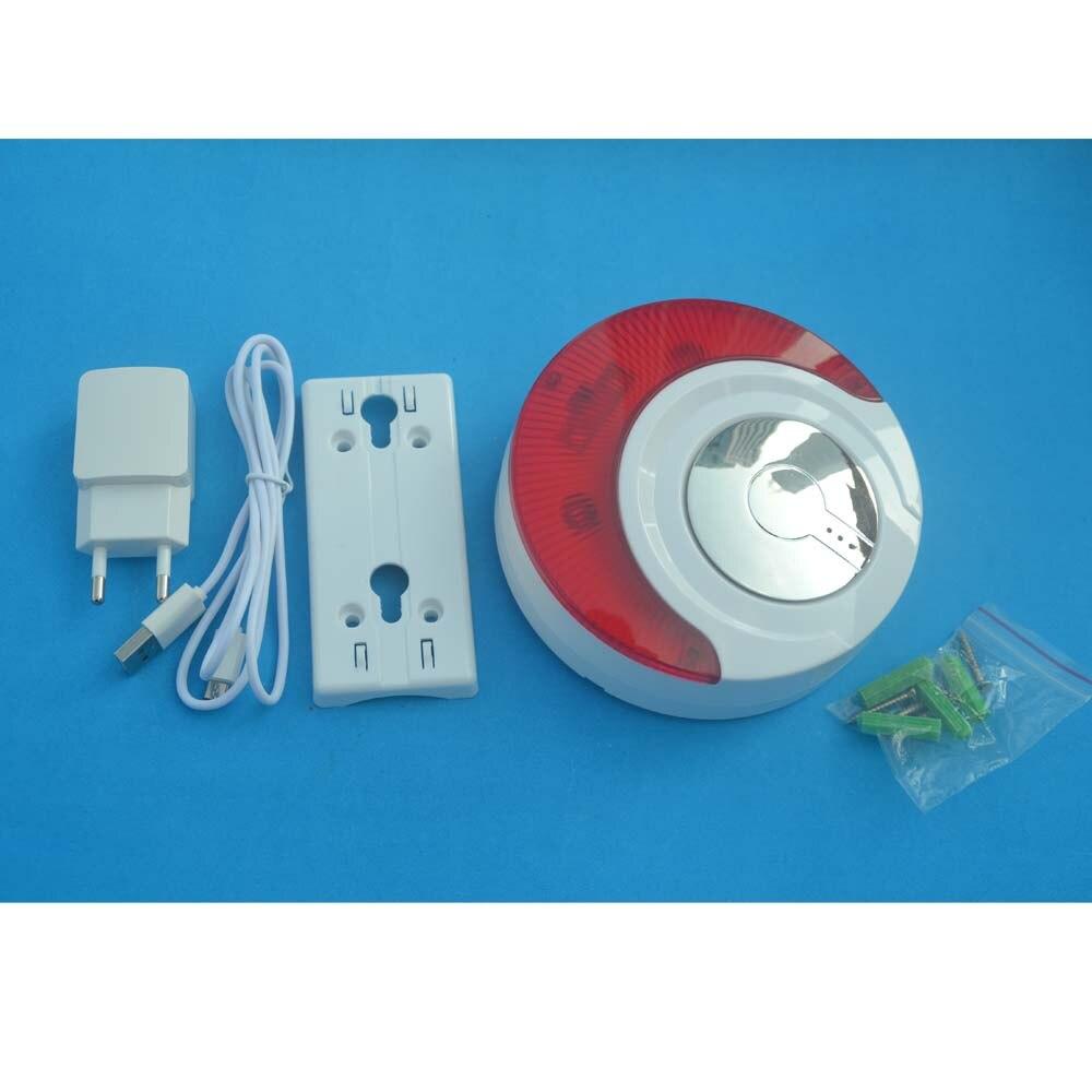 Strobe, Red, MD-, Flashing, Wireless, Light