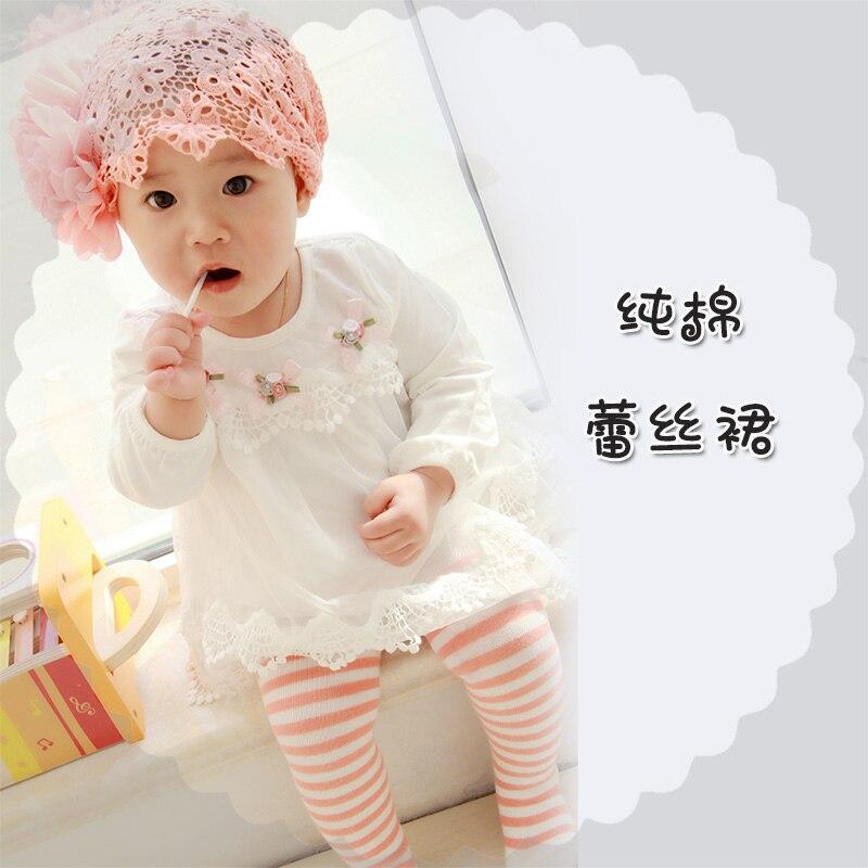 2018 Hot Sale Spring Cotton Kids Clothes Newborn Girls Infant