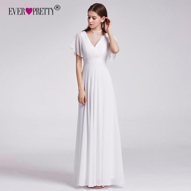 Aliexpress.com : Buy Ever Pretty Cheap Chiffon Wedding Dress Elegant ...
