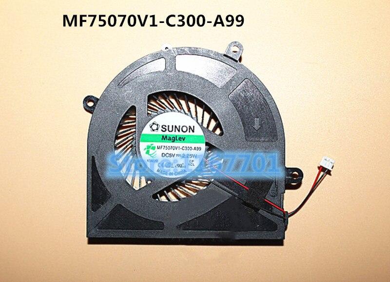 New Original Laptop//Notebook CPU cooling Fan for Tsinghua tongfang THTF T43 T45 T45-GA MF75070V1-C300-A99 THER7NTSN1 NTSN1413